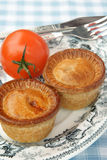 Pork pies Royalty Free Stock Photo
