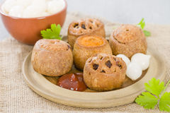 Pork Pies Stock Image