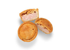 Pork pies Royalty Free Stock Photography