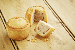 Pork pies Royalty Free Stock Images