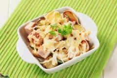 Pork and potato casserole Royalty Free Stock Image