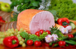 Pork products Royalty Free Stock Photography