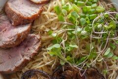 Pork Ramen Stock Photo