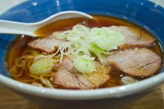 Pork Ramen Royalty Free Stock Images