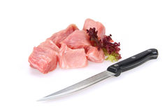 Pork raw Stock Photo