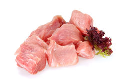 Pork raw Royalty Free Stock Image
