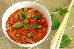 Pork red curry. Stock Images