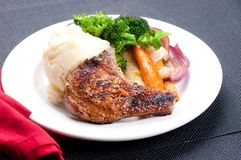 Pork rib chop Stock Image