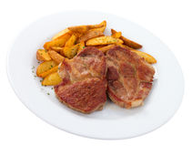 Pork Rib Chops Stock Image