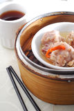 Pork rib dim sum Stock Photo