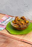 Pork Rib and rice with spicy curry Royalty Free Stock Images