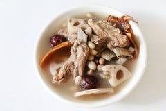 Pork rib soup Stock Image