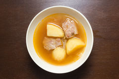 Pork rib soup Royalty Free Stock Image