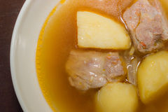 Pork rib soup Royalty Free Stock Images