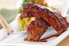 Pork Ribs Stock Photos