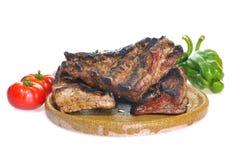 Pork ribs. stock photos
