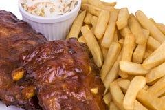 Pork ribs Stock Photography
