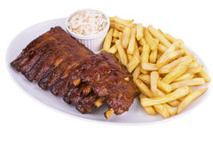 Pork ribs Royalty Free Stock Photography
