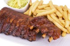 Pork ribs Royalty Free Stock Photography