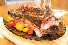 Pork ribs Royalty Free Stock Images