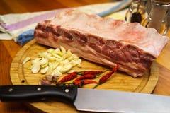 Pork ribs Royalty Free Stock Photos
