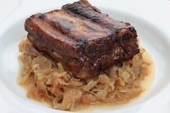 Pork ribs. Royalty Free Stock Photo