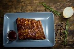 Pork ribs Stock Photos