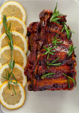 Pork ribs, slow cooked Royalty Free Stock Images