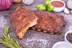 Pork ribs Royalty Free Stock Photo
