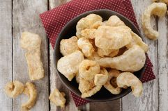 Pork rind Stock Photo
