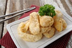 Pork rind Stock Image