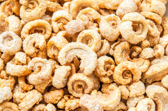 Pork rinds or deep fried pork skin Royalty Free Stock Photography