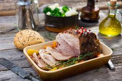 Pork Roast Royalty Free Stock Photography