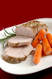 Pork roast stock photography