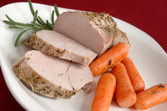 Pork roast Royalty Free Stock Photo