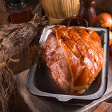Pork roast with crackling