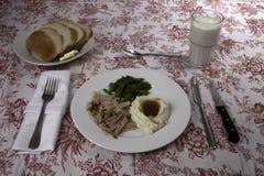 Pork Roast Dinner Stock Image