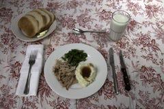 Pork Roast Dinner Stock Images