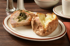 Pork roast florentine Royalty Free Stock Photo