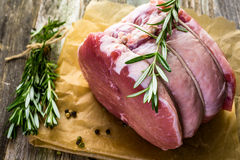 Pork roast Stock Photos