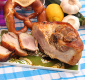 Pork roast Royalty Free Stock Image