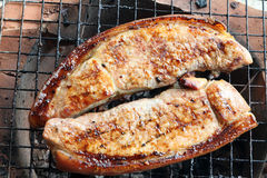 Pork roast on the stove Stock Photography