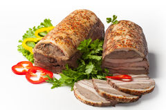 Pork roll Royalty Free Stock Photos