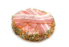 Pork roll stuffed Stock Photo