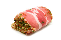 Pork roll stuffed Royalty Free Stock Photography