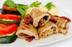 Pork rolls Royalty Free Stock Image