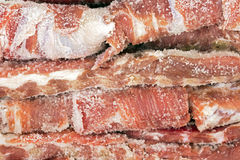 Pork's dried rib, ingredient for Brazilian bean stew Royalty Free Stock Photo