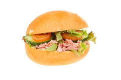 Pork salad roll Royalty Free Stock Images