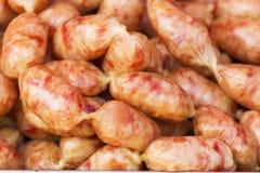 Pork salami sausage Royalty Free Stock Photo