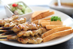 Pork Satay Royalty Free Stock Image